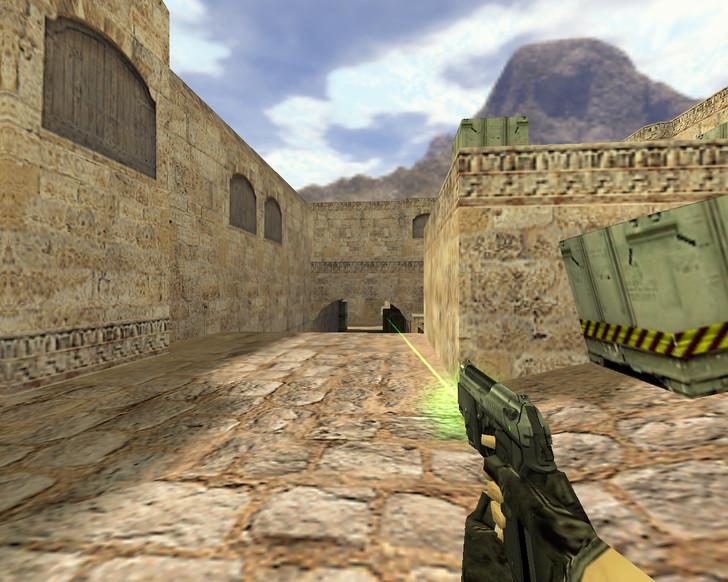 «USP Зеленый лазер» для CS 1.6