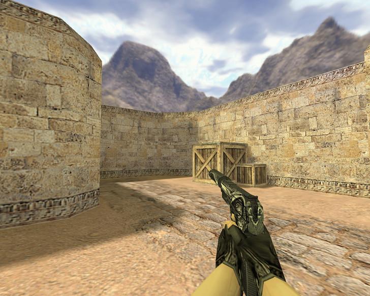 «USP Серебряный змей» для CS 1.6
