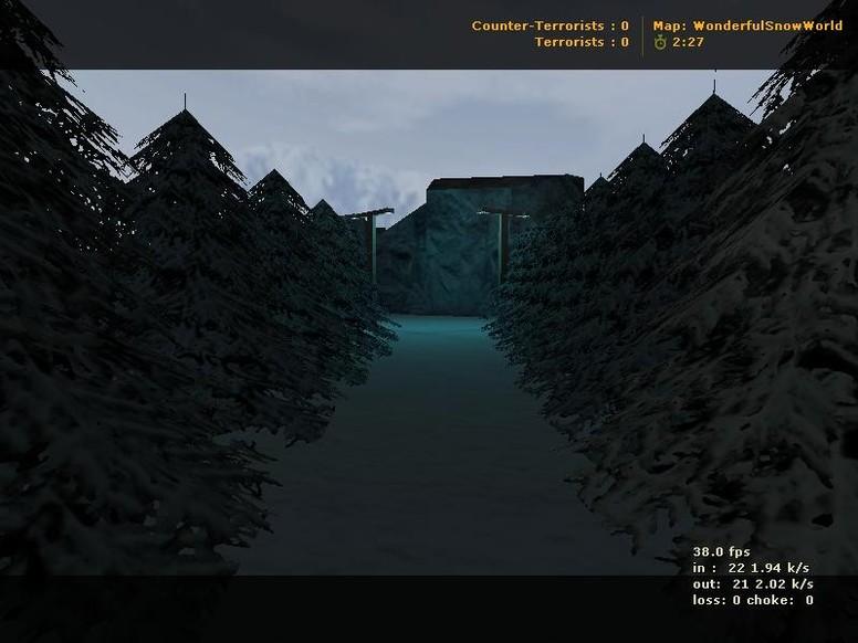 «wonderfulsnowworld» для CS 1.6