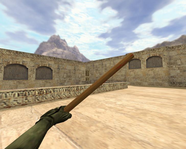 «Деревянная боевая палка» для CS 1.6