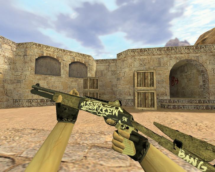«XM1014 Пустынный повстанец» для CS 1.6