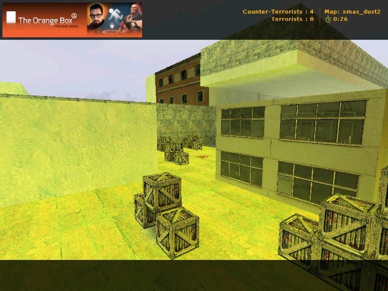 «xmas_dust2» для CS 1.6