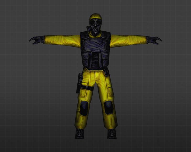 «Желтый спецназ» для CS 1.6