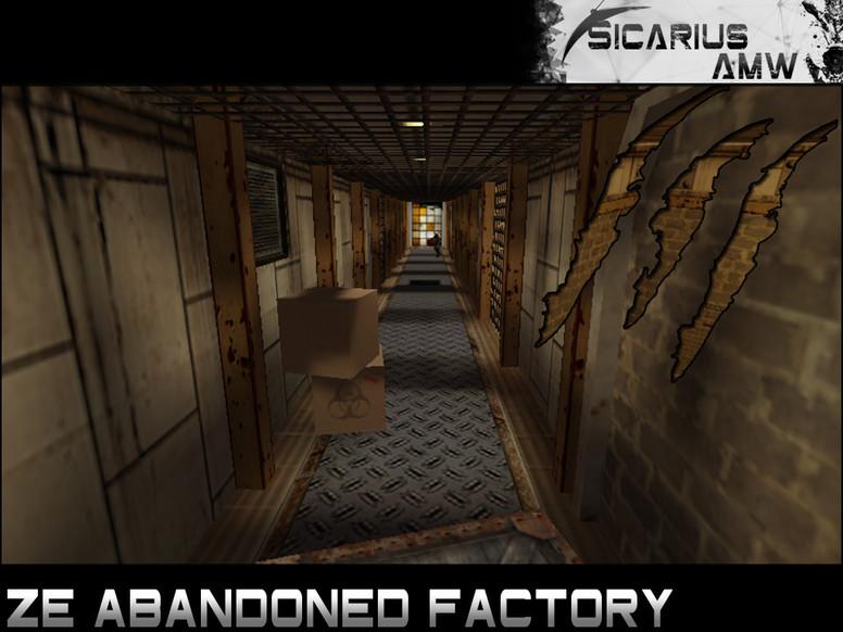 «ze_abandoned_factory» для CS 1.6