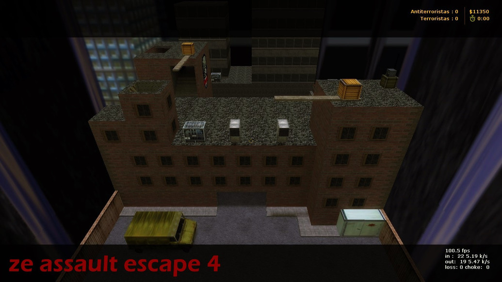 «ze_Assault_Escape4 B2» для CS 1.6