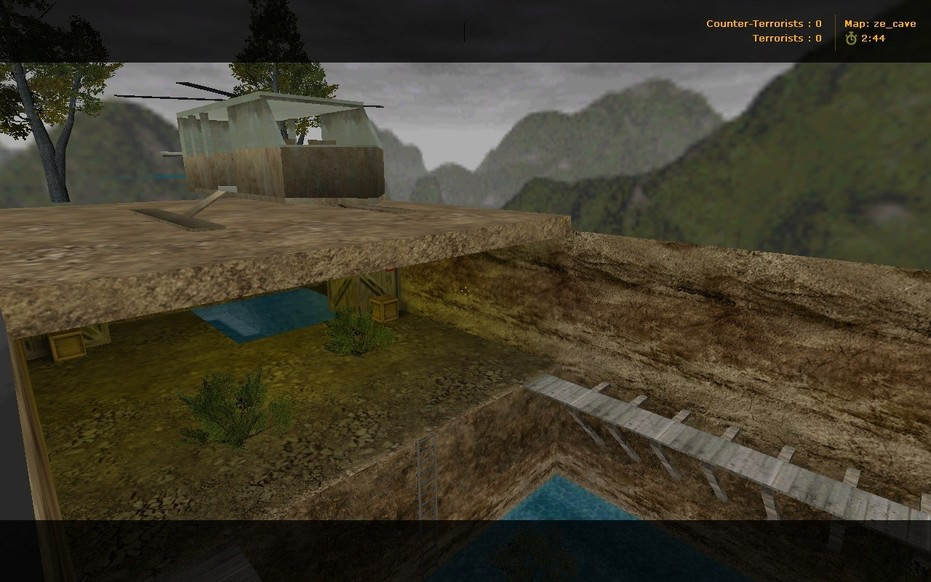 «ze_cave» для CS 1.6