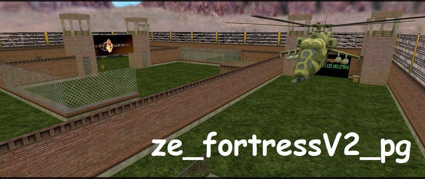 «ze_fortressV2_pg» для CS 1.6