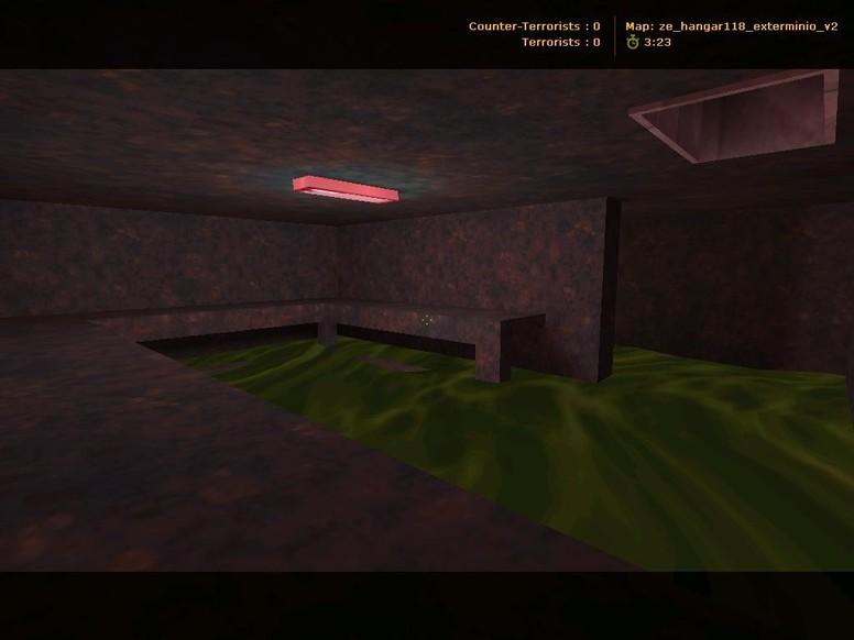 «ze_hangar118_exterminio» для CS 1.6