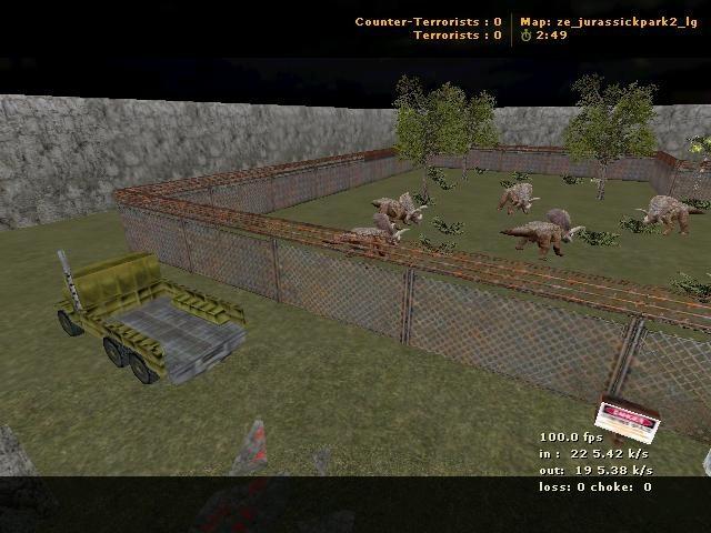 «ze_jurassickpark2_lg» для CS 1.6