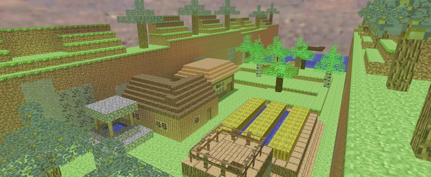 «ze_minecraftworld2_dg» для CS 1.6