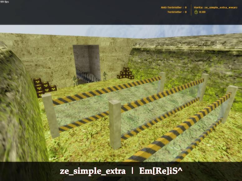 «ze_simple_extra_wwarz | World War Z» для CS 1.6