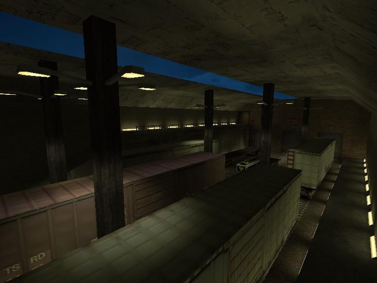 «ze_train_escape» для CS 1.6