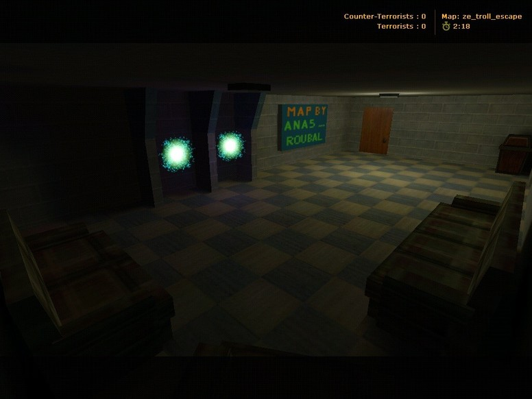 «ze_troll_escape» для CS 1.6
