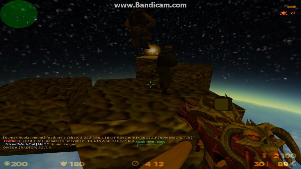 «zhl_space_foda» для CS 1.6