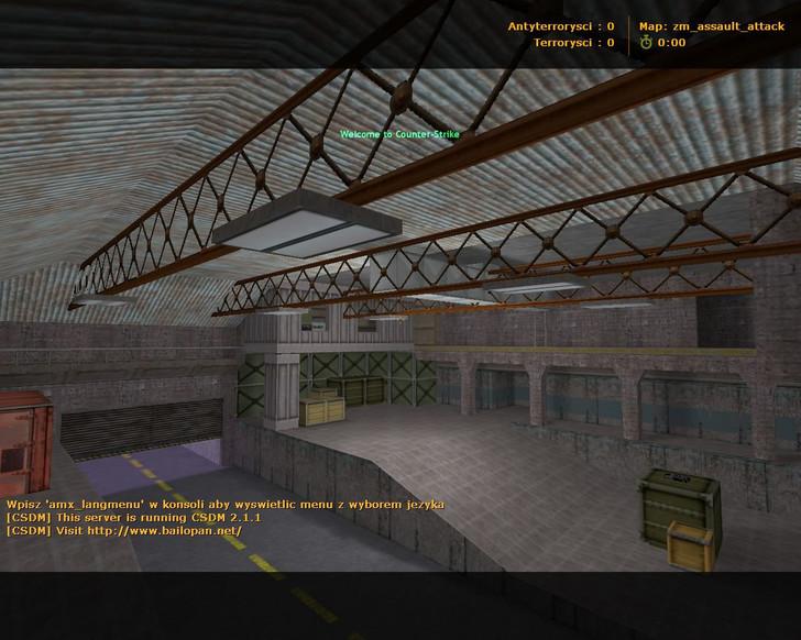 «zm_assault_attack» для CS 1.6