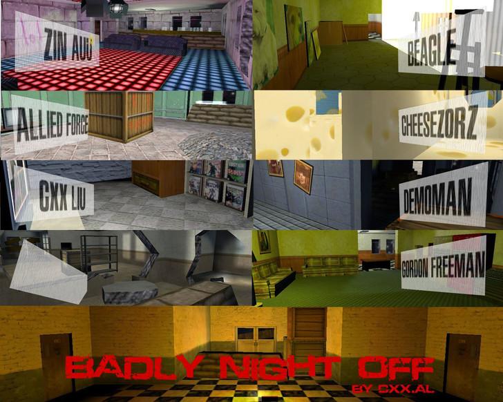 «zm_badlynightoff_f» для CS 1.6