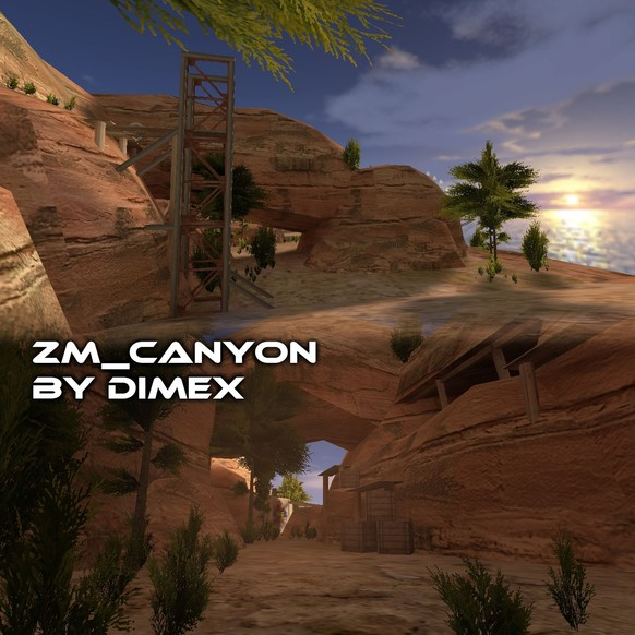 «zm_canyon» для CS 1.6