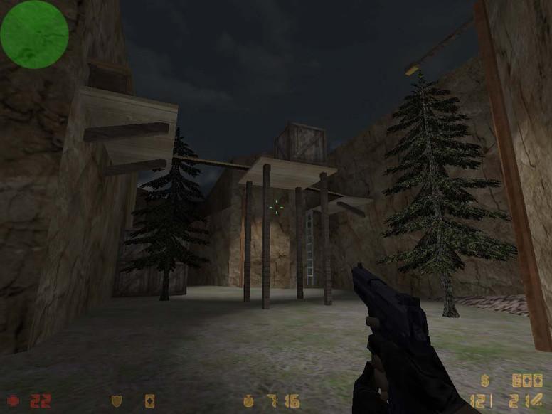 «zm_darkplace» для CS 1.6