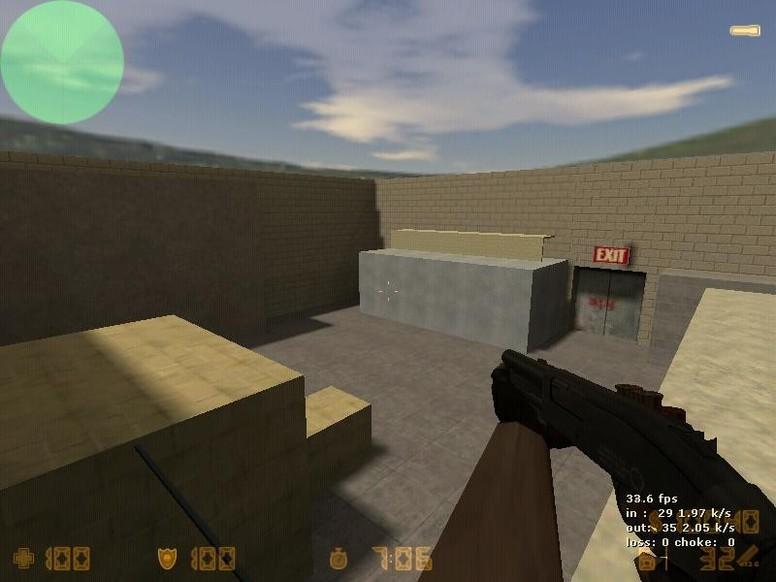 «zm_dead_room» для CS 1.6