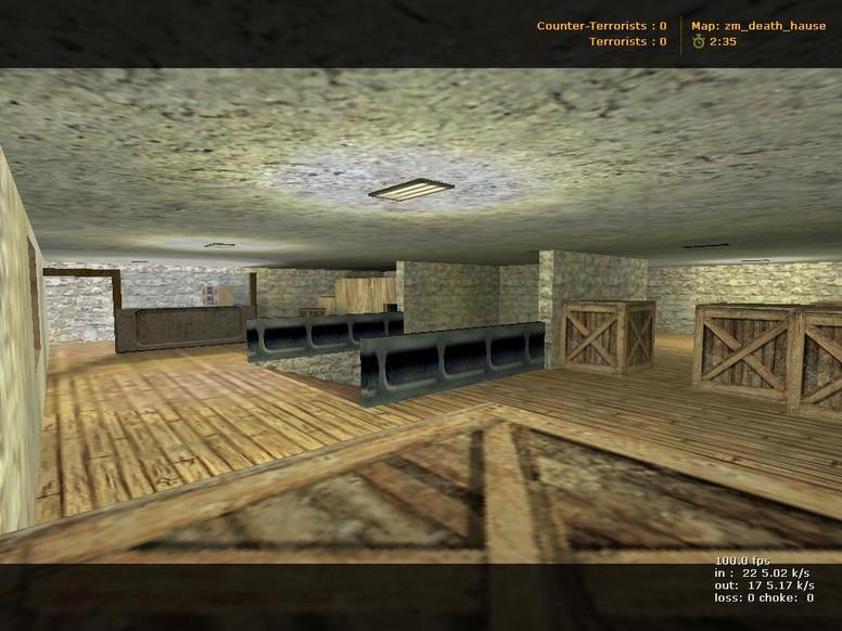 «zm_death_hause» для CS 1.6