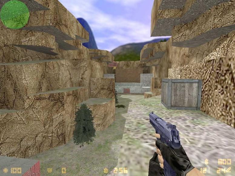 «zm_deathalley_new» для CS 1.6