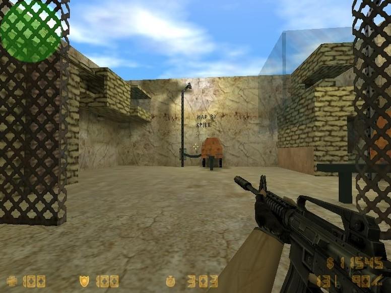 «zm_desert_base» для CS 1.6