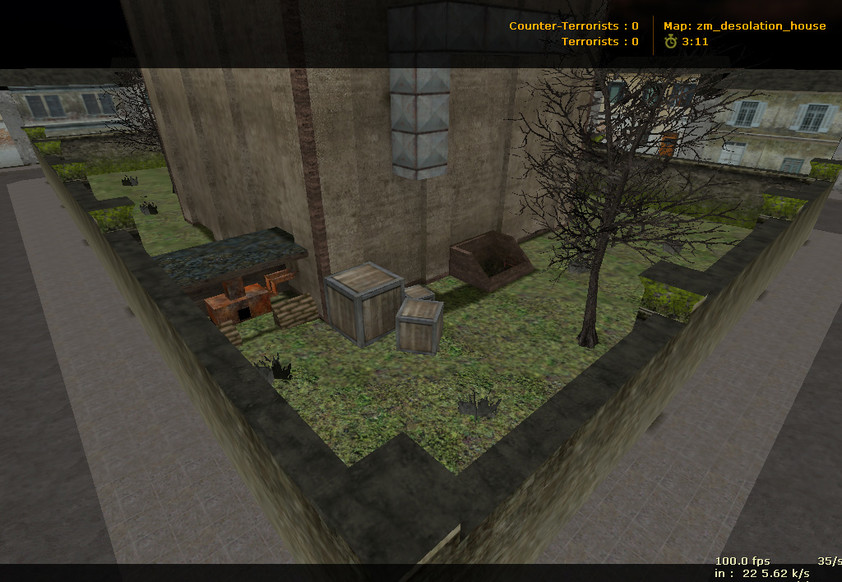 «zm_desolation_house» для CS 1.6