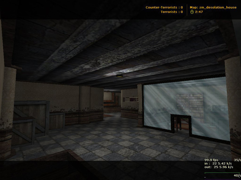 «zm_desolation_house» для CS 1.6