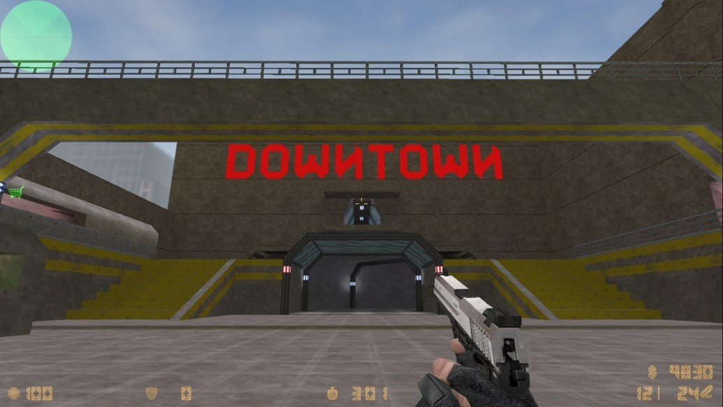 «zm_downtown» для CS 1.6