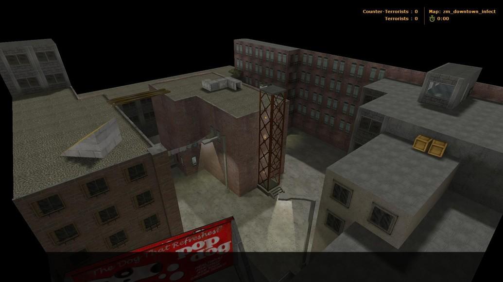 «ZM_Downtown_Infect» для CS 1.6