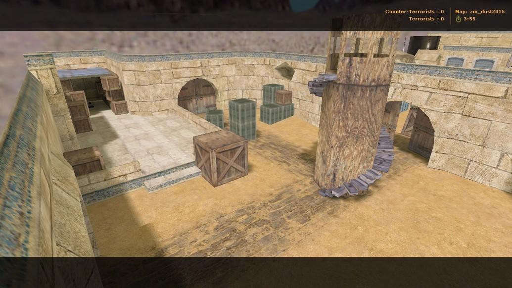 «zm_dust2015» для CS 1.6