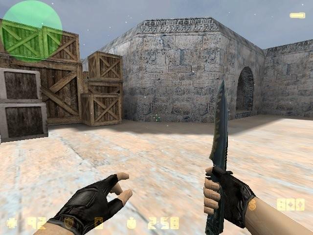 «zm_dust2snow_2011» для CS 1.6