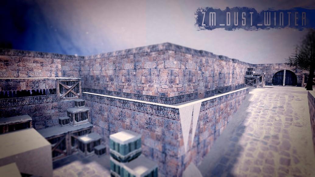 «zm_dust_winter» для CS 1.6