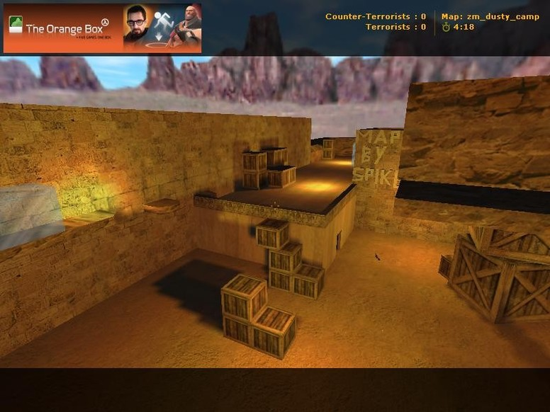 «zm_dusty_camp_v1» для CS 1.6