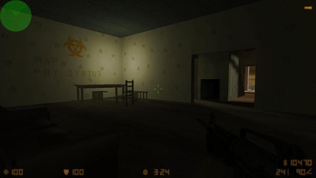 «zm_hewitt_house» для CS 1.6