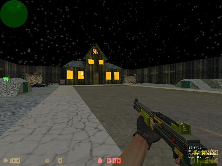 «zm_horror» для CS 1.6