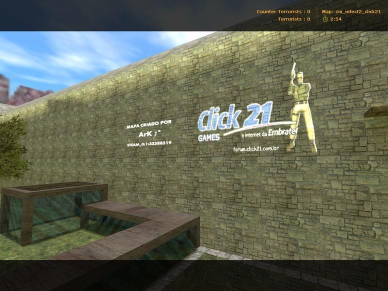 «zm_infect2_click21» для CS 1.6
