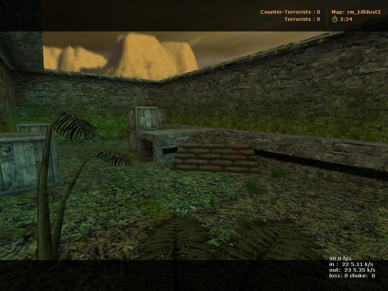«zm_killdust2» для CS 1.6