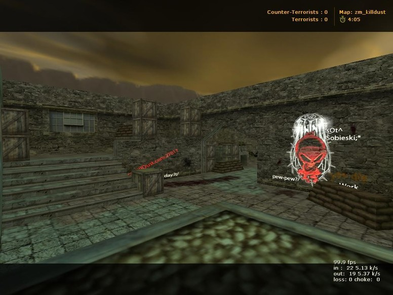 «zm_killdust» для CS 1.6