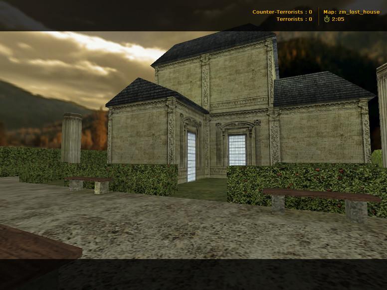«zm_lost_house» для CS 1.6