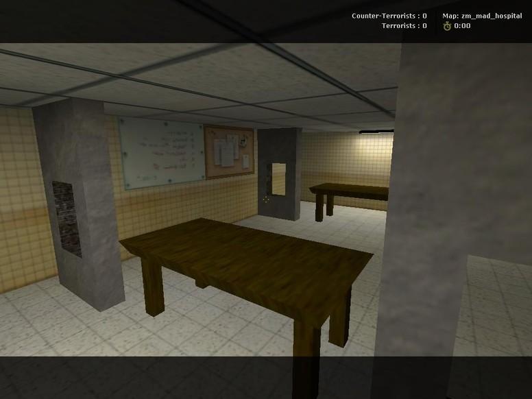 «zm_mad_hospital» для CS 1.6