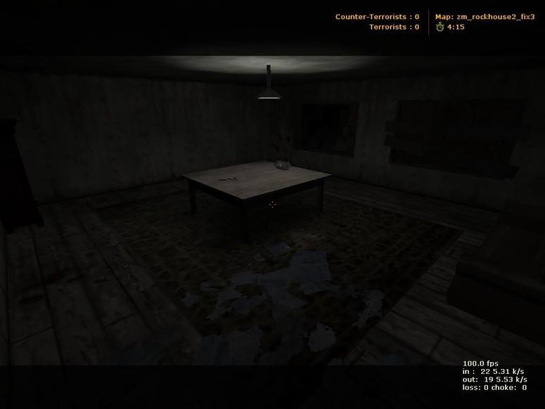 «zm_rockhouse2» для CS 1.6