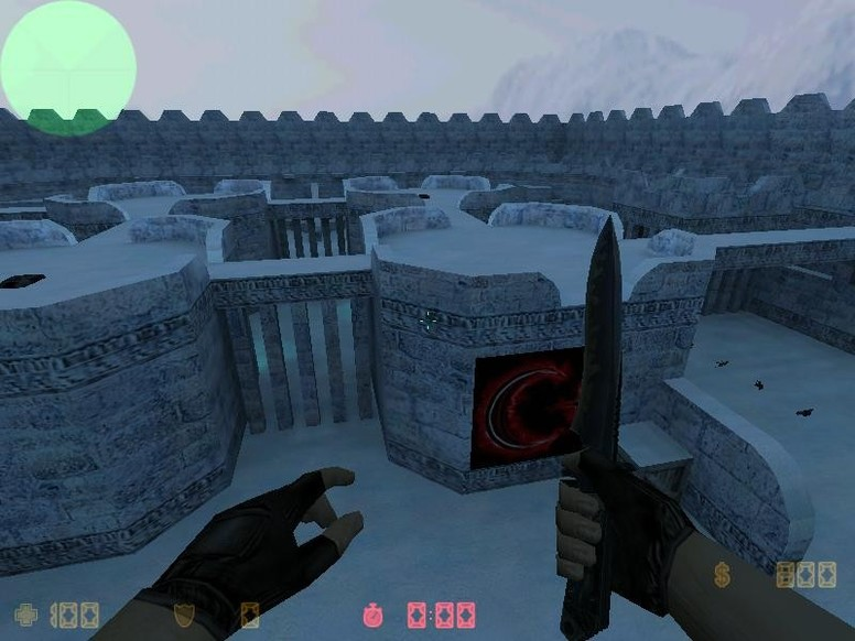«zm_snow2012» для CS 1.6