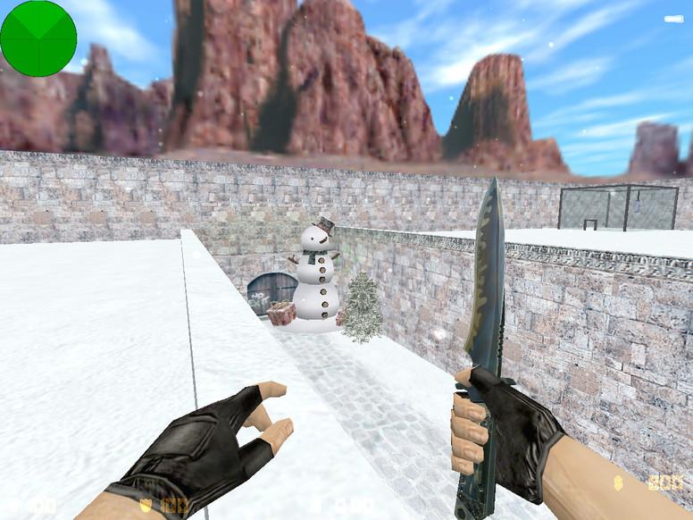 «zm_snow55_dp» для CS 1.6