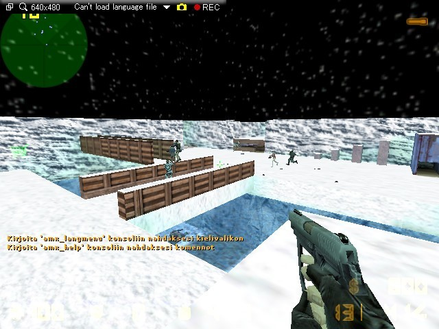 «zm_snow_land» для CS 1.6
