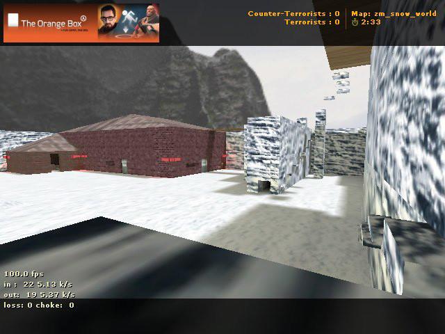 «zm_snow_world» для CS 1.6