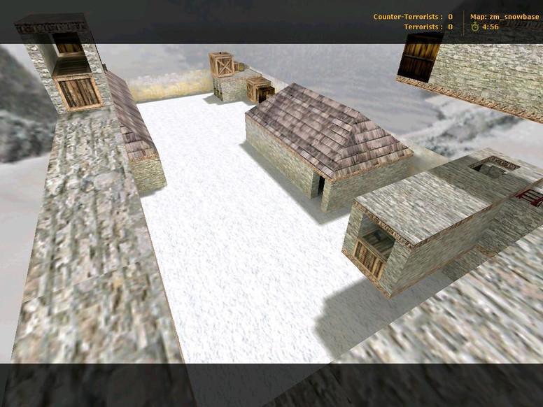 «zm_snowbase» для CS 1.6
