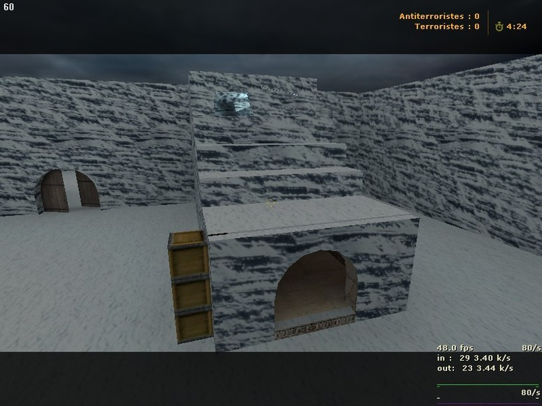 «zm_snowbase_beta *update*» для CS 1.6