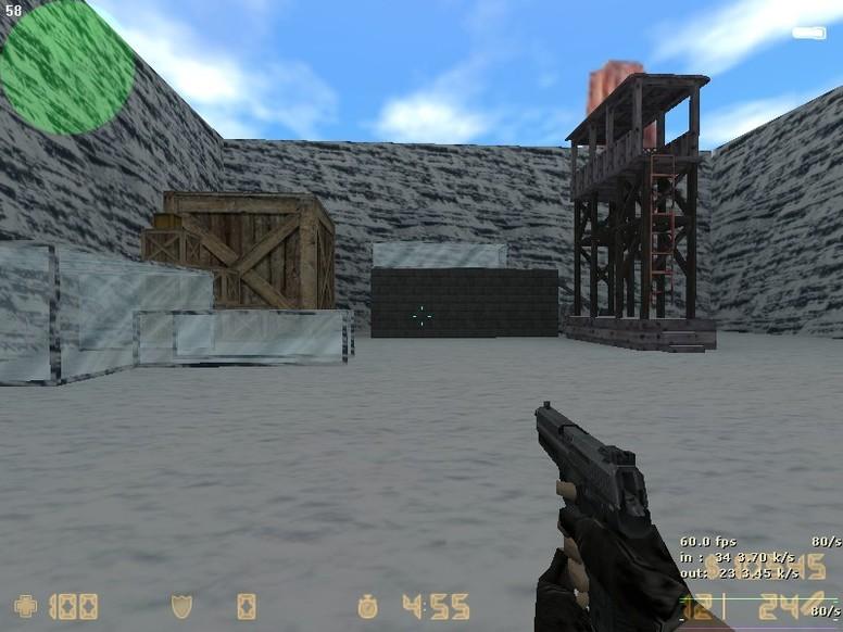 «zm_snowbase_beta» для CS 1.6
