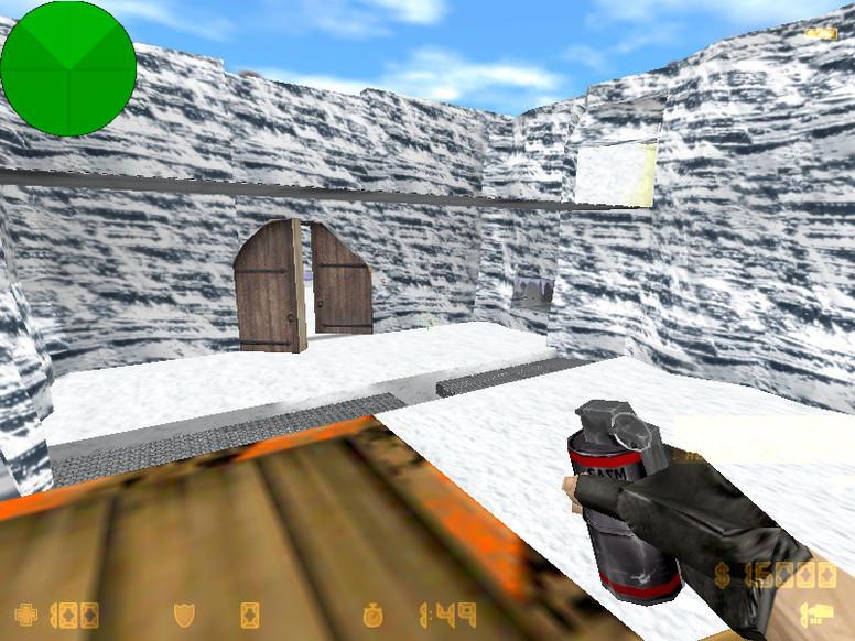 «zm_snowrooms2» для CS 1.6